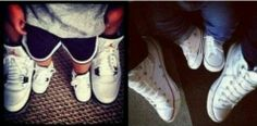 Niall and Theo on the left, Harry and Lux on the right. What is it with these boys and buying matching shoes for infants?!