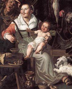 Vicenzo Campi: The Fishmongers, 1580's Pinacoteca di Brera, Milan | Flickr - Photo Sharing!