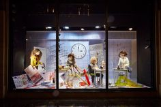 Photo of harvey nichols retail point of sale back to school campaign window display