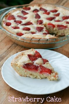 Martha Stewart Strawberry Cake - I can attest that this cake satisfies many hungry baseball players!