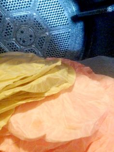 how to dye coffee filters