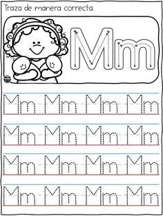Handwriting Worksheets For Kids, Alphabet Tracing Worksheets, Flashcards For Kids, Printable Alphabet Letters, Kindergarten Writing Activities, Preschool Learning Activities, Letter Activities, Preschool Worksheets, Alphabet Writing Practice