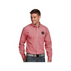 Men's Antigua Toronto Raptors Associate Plaid Button-Down Shirt, Size: Medium, White Oth