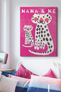 Art Gift Guide: 10 Pieces for the Kids, Big and Small, in Your Life featuring @greatbigcanvas via @surroundmag