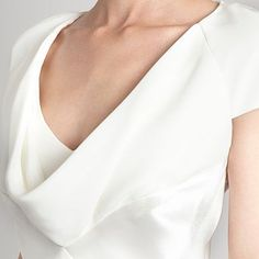 Ivory cowl neck dress - Bridesmaid dresses - Dresses - Women -