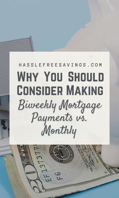 If you're a homeowner, chances are you're making monthly payments towards your mortgage. This would be equal to 12 payments a year, and no extra fees if they are all made in full and on time. A simple, predictable, easy to budget plan. Why change anything? Have you considered the benefits of making biweekly payments instead? #whyyoushould #paymenttips #mortgageguide #savingmoney #savingtips #payment #hasslefreesavings Savings Challenge, Money Saving Challenge, Saving Money, Biweekly Mortgage, Mortgage Payment, Rent Me, Mortgage Calculator, Budget Plan, Ways To Save Money
