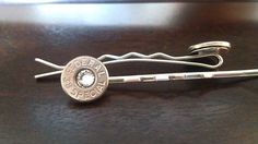 Bullet bobby pins, hair accessories for every country girl. I need these for my wedding! OMG.