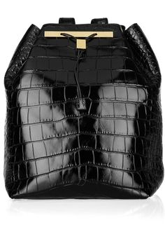 The Row - Alligator Backpack >> Only a little over the budget #bag #luxury