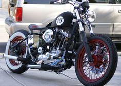 Harley Ironhead bobber | Bobbers and Custom Motorcycles