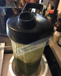 Oh I am loving my #gocup #blendtec #small #oneserving #shaker its #awesome #having some #greens today #westphd #westkirkley