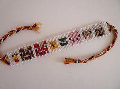 Minecraft Animals Friendship Bracelet on Etsy, $10.00