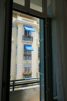 View from the apartment in Nice