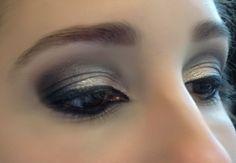 Make up olhos esfumados