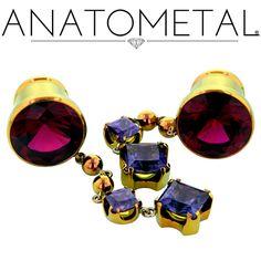 - Single Stone Eyelets - ANATOMETAL - Professional Grade Body Piercing Jewelry