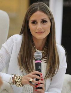 olivia palermo long haircut