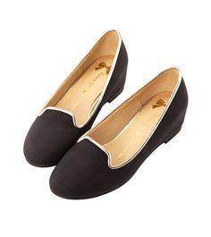 Grace giftGrace gift 官方購物網站 - 原色馬卡龍內增高休閒便鞋