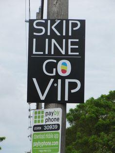 my life on the e-list: the sofl snapshots: go vip