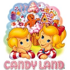 Candy Land. Why do all the oldies, but goodies change?!