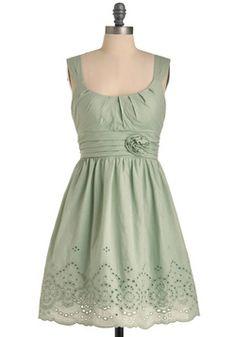 Mint Milkshake Dress, #ModCloth