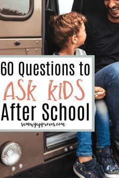 In a day when things like bullying are so common it really is important to communicate with our kids. This is a great list of questions to ask after school all year round. Plus a list of tips to help parents start conversations with their children and kee Parenting Articles, Parenting Classes, Kids And Parenting, Parenting Hacks, Parenting Plan, Mindful Parenting, Peaceful Parenting, Foster Parenting, Parenting Styles