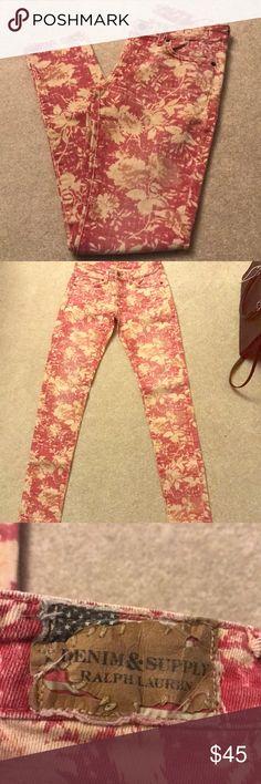 NWOT Ralph Lauren Skinny Jeans Size 28 Denim & Supply Ralph Lauren Jeans Skinny