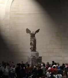 Nike of Samothrace.....Breathtaking.