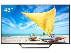 """[MagaZlUizA] Smart TV LED 48"""" Sony Full HD KDL-48W655D R$ 2,500 10X"""