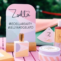 Loving jelly and gelato♥♥ Zoella Lifestyle, Zoella Beauty, Beauty Vitamins, Zoe Sugg, Beauty Packaging, Packaging Design, Concept Board, Body Mist, Bubble Bath