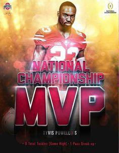 Tyvis Powell ... Ohio State Football ...