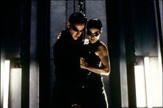 the matrix   Matrix - Carrie-Anne Moss - Keanu Reeves Image 5 sur 32