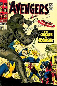 Rare Comic Books, Comic Book Characters, Vintage Book Covers, Comic Book Covers, Pulp Fiction Comics, Silver Age Comics, Avengers Comics, Classic Comics, Graphic Novels