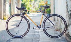 VOOC Bamboo Bike on Behance