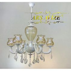 Arş Avize Beyaz Bal Üfleme Cam Metal 6'lı Klasik Salon Avize 800,00 TL ve ücretsiz kargo ile n11.com'da! Arş Avize Avize fiyatı Dekorasyon