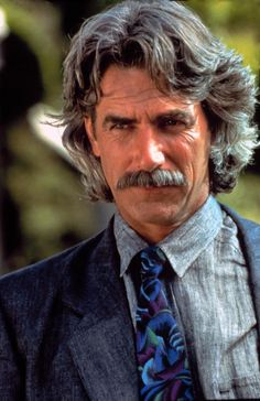 sam elliott -along this gorgeous hunk of man!