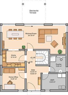 kern haus maxime grundriss dachgeschoss home idea. Black Bedroom Furniture Sets. Home Design Ideas