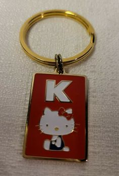 VINTAGE SANRIO HELLO Kitty Key Chain - $0.99. FOR SALE! Shipped with USPS First Class. 194054590790 Hello Kitty Accessories, Sanrio Hello Kitty, Vintage, Vintage Comics