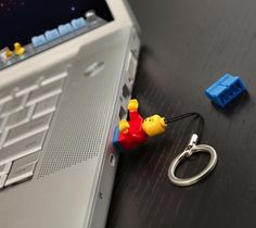 Classic LEGO Minifigureis now available as a USB Drive as well. Contained within the character is a fully functional 4‐gigabyte USB flash memory drive.
