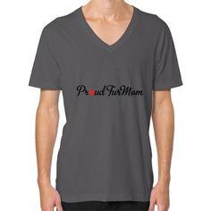Proud FurMom Men's V-Neck t-shirt
