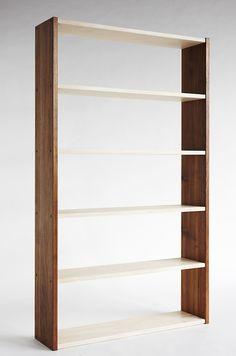 Bookcase - American oak sides and Australian hoop pine shelves