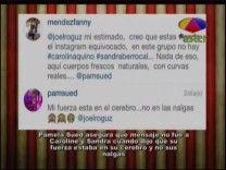 """Pamela Sued Asegura Que Su Frase """"Mi Fuerza Está En El Cerebro, No En Las Nalgas"""" No Fue Para Caroline Aquino Y Sandra Berrocal #Video"""