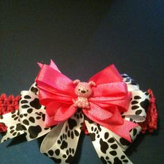 This is the puppy dog hair bow