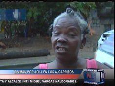 Claman Por Agua En Los Alcarrizos #Video