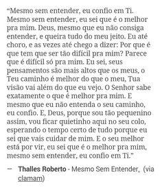 Mesmo Sem Entender - Thalles Roberto