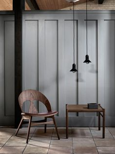 Danish brand Carl Hansen & Søn has relaunched a chair created by furniture designer Børge Mogensen in featuring sculptural cutouts in its backrest.Danish brand Carl Hansen & Søn has relaunched a chair created by furniture designer Børge Mogensen in Stockholm Design, Milan Design, Cool Furniture, Modern Furniture, Furniture Design, Eames, Journal Du Design, Luxury Furniture Brands, Decor Interior Design