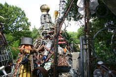 Wander through the wonder of the Cathedral of Junk. | 35 Things Everyone Should Do In Austin, Texas, Before They Die