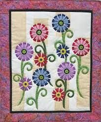 Free Easy Quilt Patterns | Array of Color - easy flower applique ... : free applique quilting patterns - Adamdwight.com
