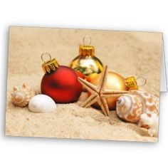 Beach Christmas Cards. There is still time to get them!