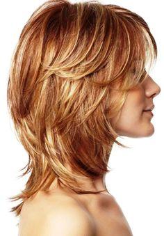 29. Medium Layered Hairstyle