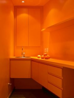 """""""agencia babel 2,"""" Claudia Haguiara, commercial work -- When I saw this photo and started trying to track it down, it was labeled, """"A real commitment to orange.""""  I'd have to agree!"""