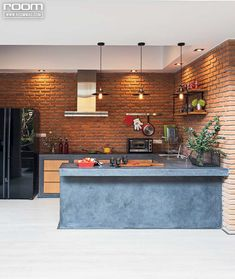 Trendy Home Decored Ideas Kitchen Loft Loft Kitchen, Kitchen Room Design, Home Room Design, Modern Kitchen Design, Home Decor Kitchen, Kitchen Interior, Home Interior Design, Home Bar Rooms, House Rooms
